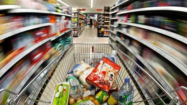 Einkaufen mit Stress