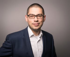 Portrait von Daniel Hujer (Leiter Sales & Marketing, m-pathy)