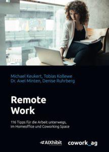 Buchdeckel des Titels Remote Work 116 Tipps